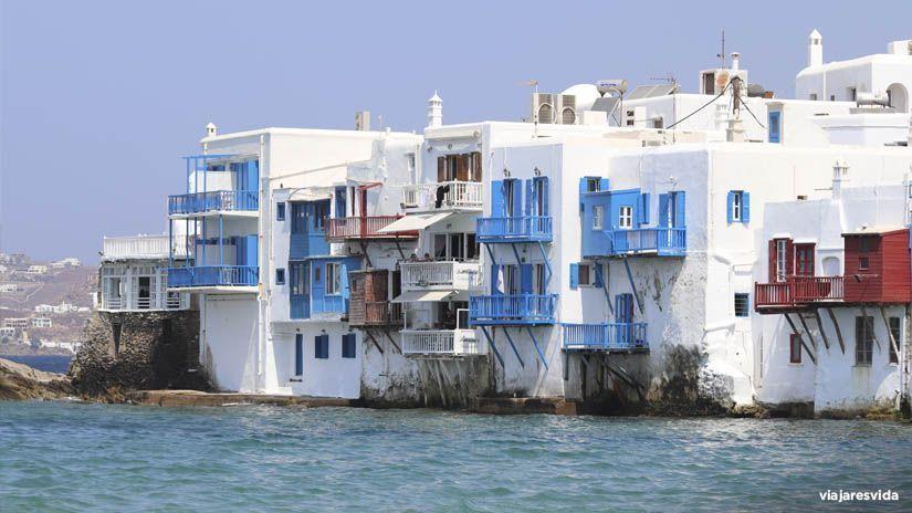 Little Venice en Mykonos