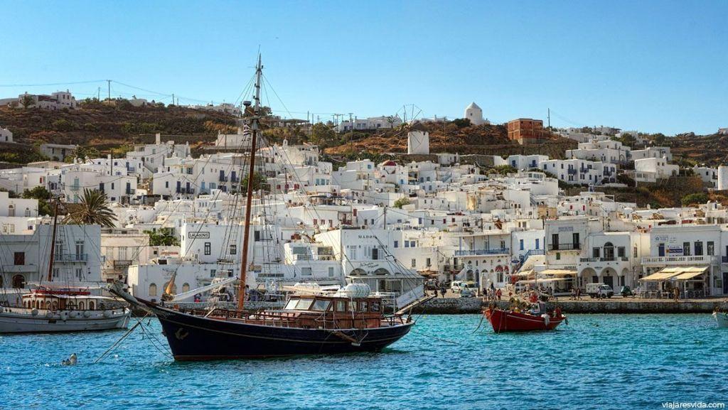 Ciudad de Mykonos, Islas Griegas