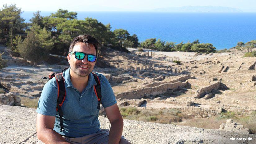 Ancient Kamiros en Rodas