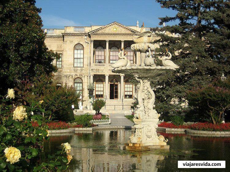 Jardines del Palacio Dolmabahce