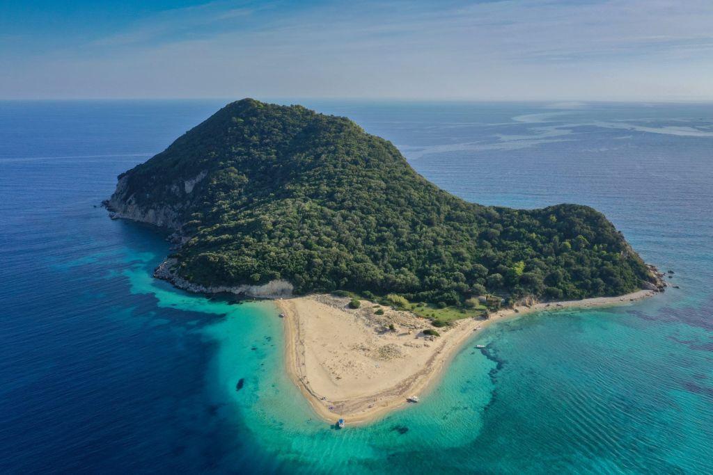 Isla Marathonisi en Zakynthos