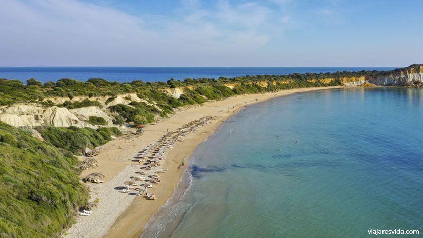 Playa Gerakas de Zante