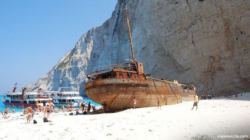 Panagiotis, el naufragio de Navagio Beach en Zante