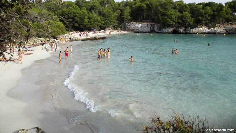 Cala en Turqueta en Menorca