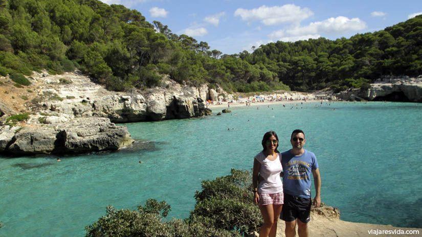 Cala Mitjana y Mitjaneta. Unas de las mejores playas de Menorca