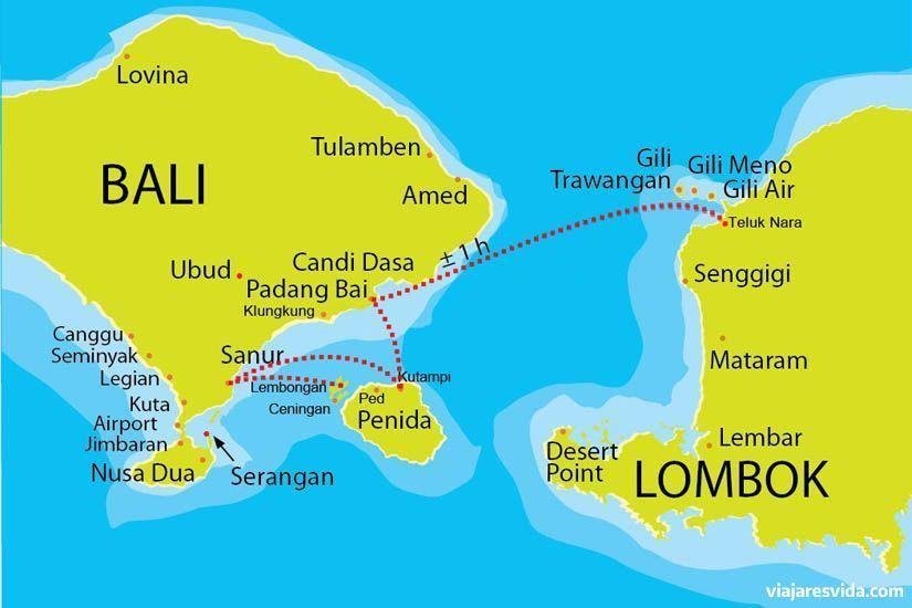 Cómo llegar a las islas gili desde Bali o Lombok