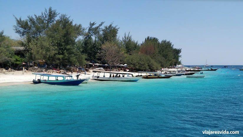 Playa de las islas Gili