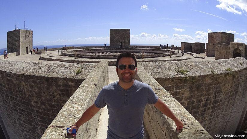 Castillo de Bellver en Mallorca (España)