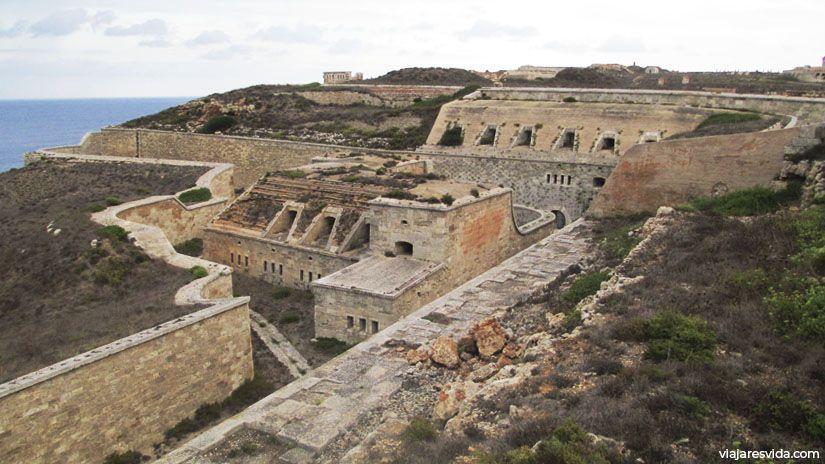Fortaleza de La Mola en Mahón, España