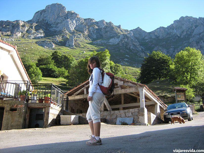 Montañas de los Picos de Europa vistas desde Tielve