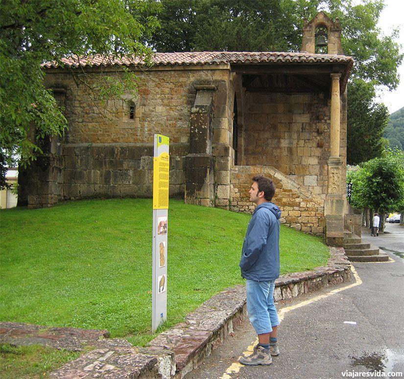 Iglesia de la Santa Cruz en Cangas de Onís