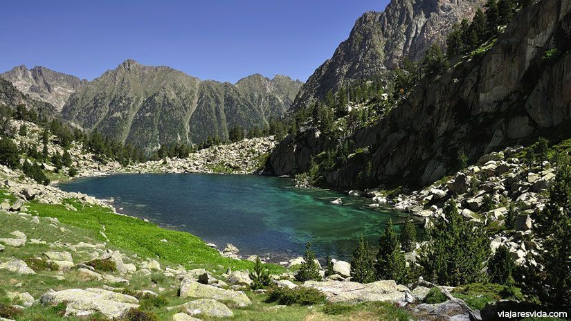 Estany Monestero. La Vall de Boí, Parc Nacional d'Aigüestortes y Estany de Sant Maurici