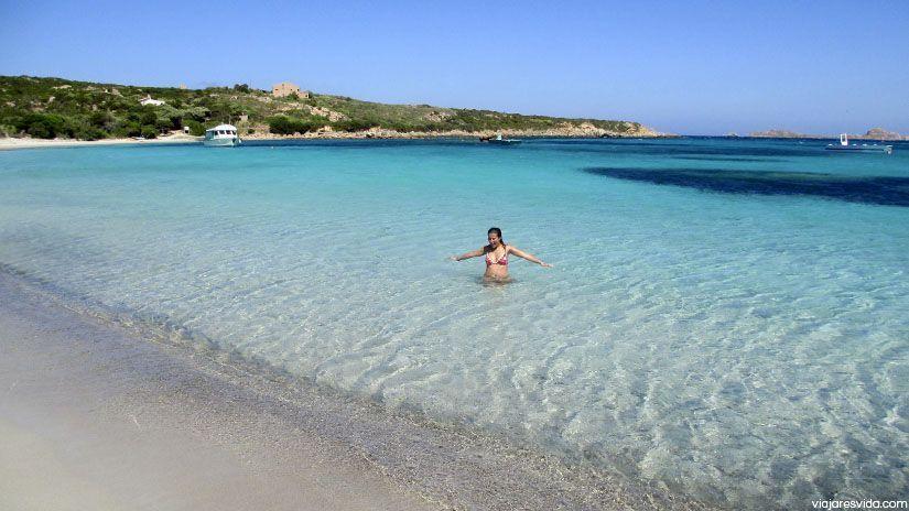 Playa Santa Maria. Cerdeña