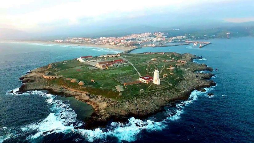 Isla de Las Palomas o isla de Tarifa