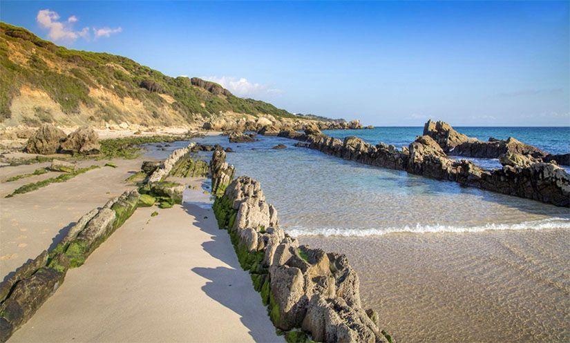 Playa de Tarifa en Cádiz. El principal motivo por el que visitar Tarifa