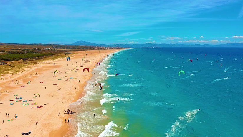 Playa paradisiaca de Tarifa