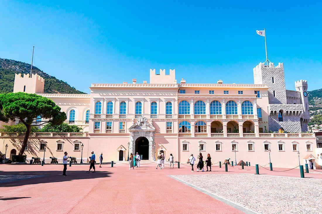 Palacio del Principado de Mónaco.