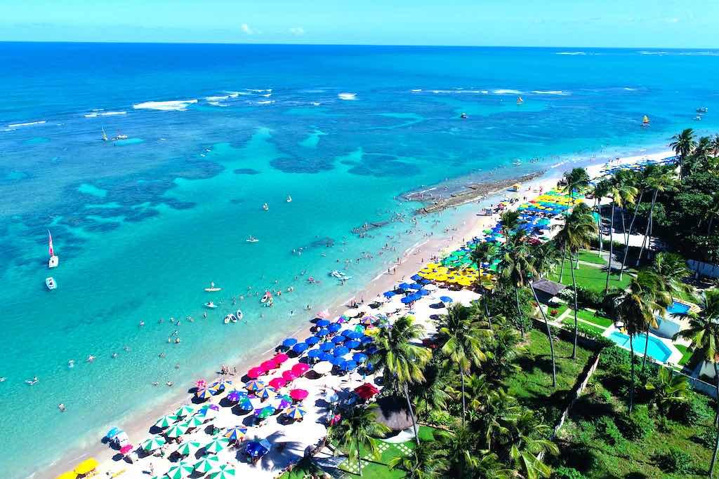 Playas de Porto de Galinhas, Pernambuco