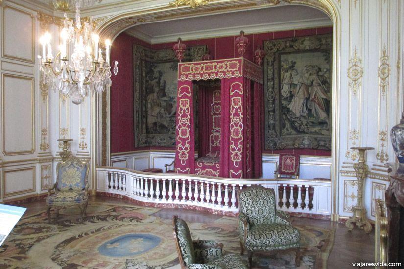 Estancia dormitorio de Luis XIV
