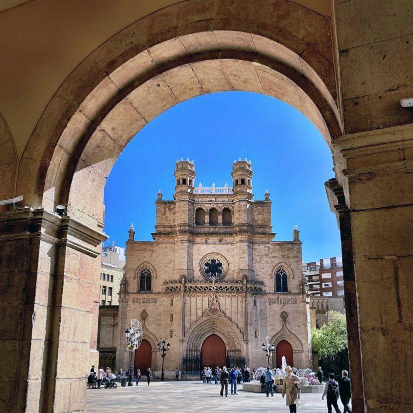 Concatedral de Santa María en Castellón