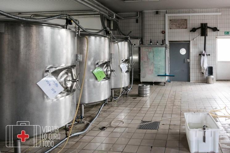 tanques de cerveza artesana