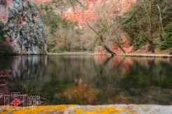 monasterio de piedra lago espejo