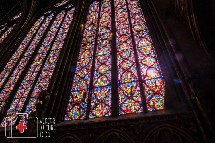 vidrieras sainte chapelle