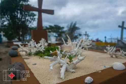 Cementerio frente al mar