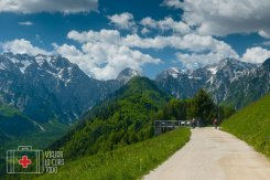 panoramic road Slovenia