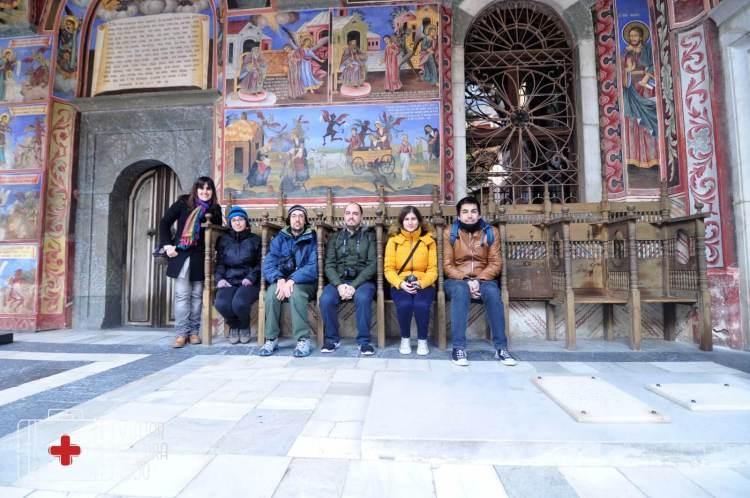 Monasterio de Rila friends