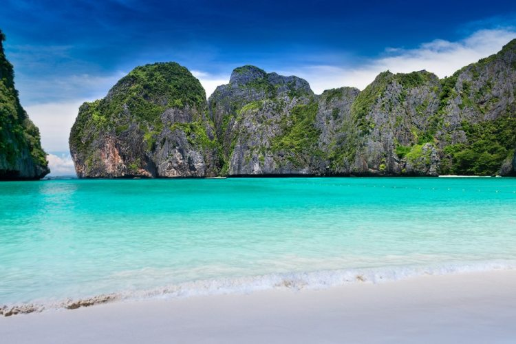 Maya Beach via Shutterstock