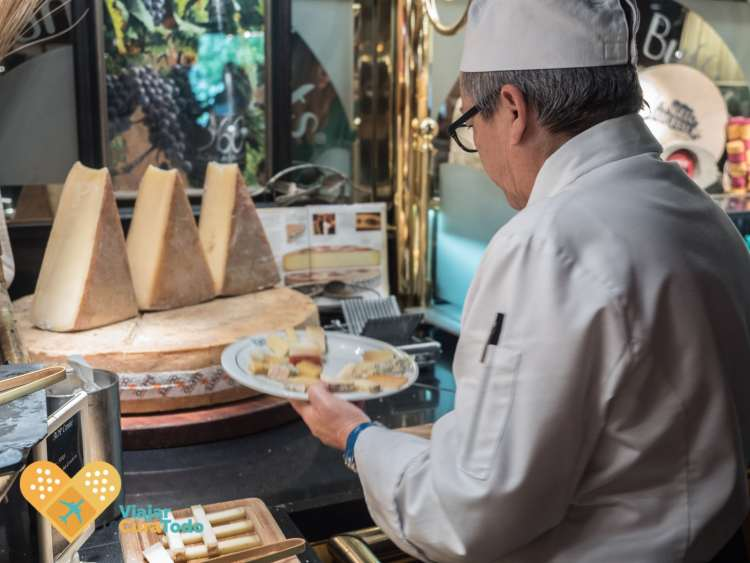 45 tipos de queso Les Grands Buffets