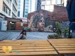 Nomads Melbourne hostel street art