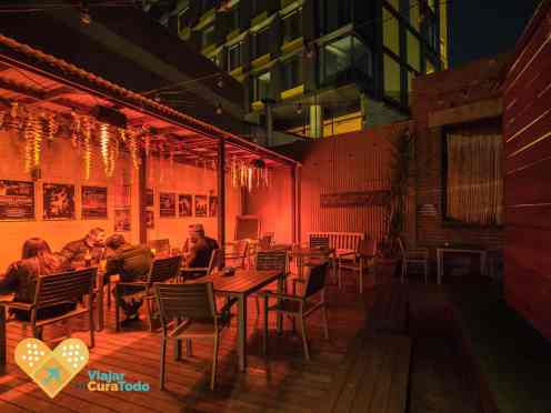 Melbourne Nomads external bar