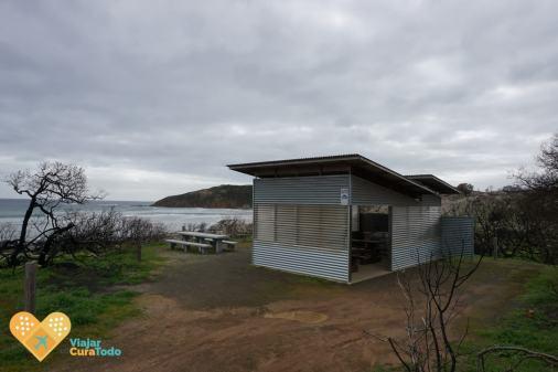Área de pícnic en Kangaroo Island