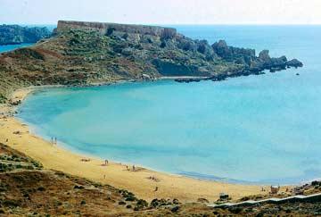 playa bugibba malta