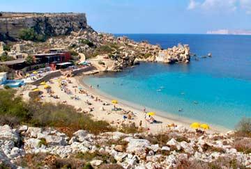 playa paradise bay de malta