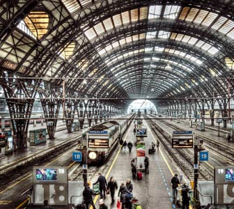 Resultado de imagen de estacion central milan