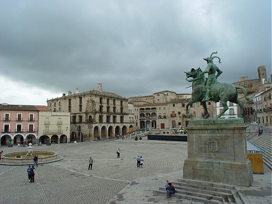 Plaza Mayor de Trujillo - Extremadura