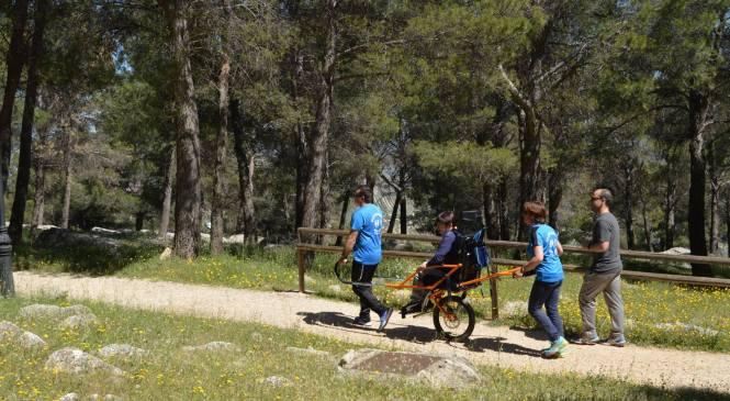 Hacer turismo con la jöellete en Siles