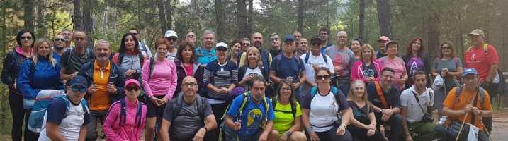 Los Vadilleros disfrutaron de una gran panorámica natural de la Sierra de Segura entre Río Madera a La Toba