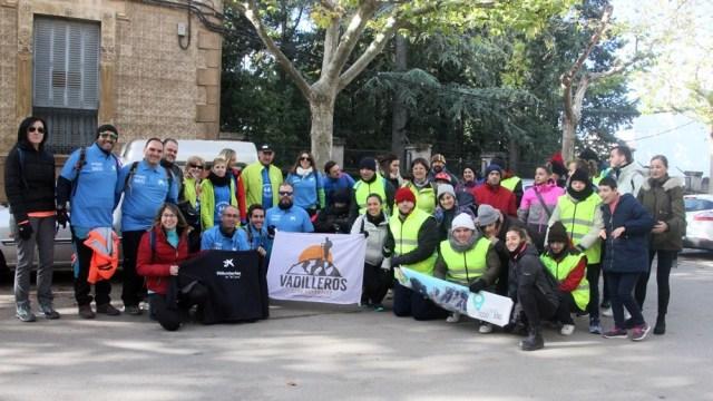 El CD Vadilleros realiza una jornada de senderismo adaptado en Siles con el centro Alhucema de Torredelcampo