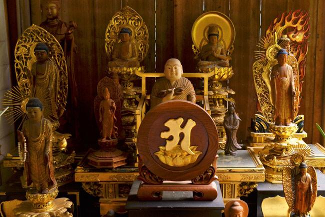 Sintoísmo en Japón, budismo en Japón