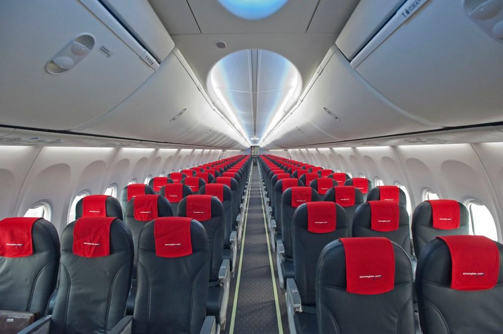 norwegian-flight-interior