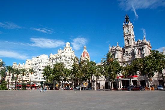 Valencia - Plaza Ayuntamiento