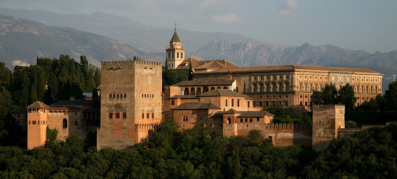 Granada. Vista panor‡mica de la Alhambra