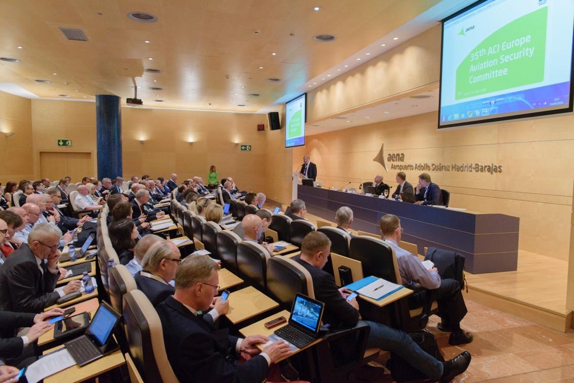 160414 Aena 35º Comité Seguridad Aviación ACI EUROPE
