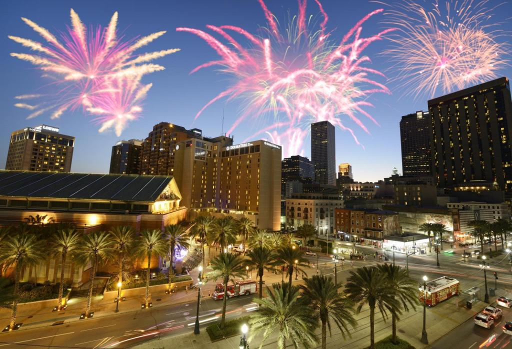 New Orleans New Year Fireworks