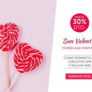 Enamórate de las ofertas de Barceló por San Valentín