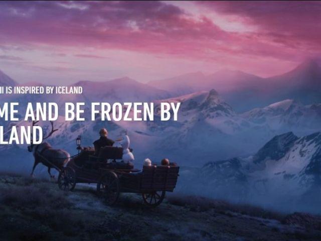 10 experiencias de Frozen 2 para disfrutar Islandia